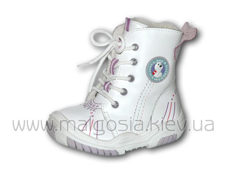 Зимние сапожки из натуральной кожи на шнуровке модель ds-2126Ws-01 67c51d4611e